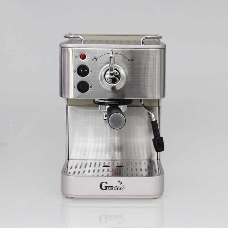 Gustino 19Bar Semi Automatic Coffee Maker Espresso Machine with Froth Milk Stainless Steel 304 ...