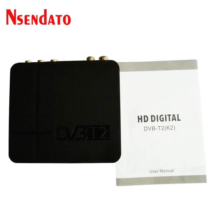 K2 HD DVB-T2 Digital Terrestrial Receiver Set-top Box (2)