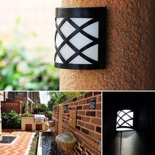 Contemporary LED Solar Wall Mounted Lights – Outdoor Waterproof