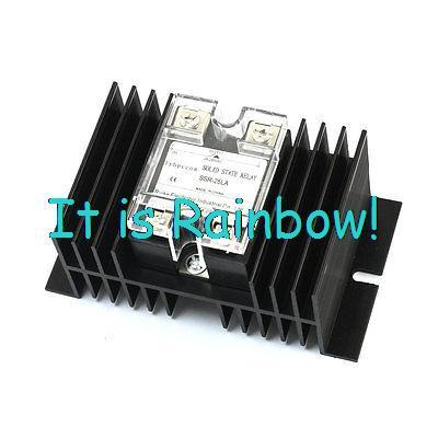 Free Shipping SSR-25LA AC 28-280V 25A Output 4 Screw Terminal Heatsink SSR Solid State Relay<br><br>Aliexpress