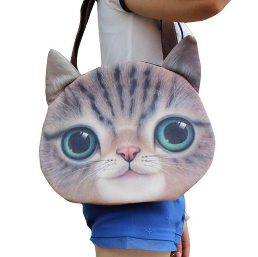 2014 Fashion New Designed Spring Winter Women Shoulder Bag Cat Shape Women Handbag Retro Women Bag(China (Mainland))