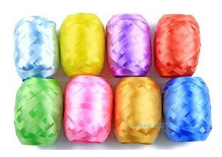 8pcs-lots Foil balloon ribbon 5mm * 10m party wedding gifts wholesale party decoration toys(China (Mainland))