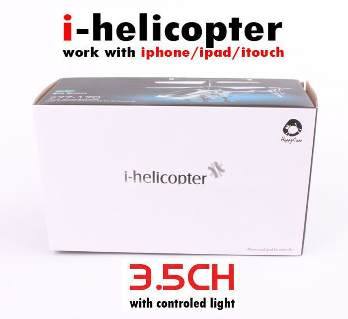 i helicopter great price helicopter controlled by iphone ipad itouch i-Helicopter,iPhone/iPod touch/ipad as Controller fast(China (Mainland))