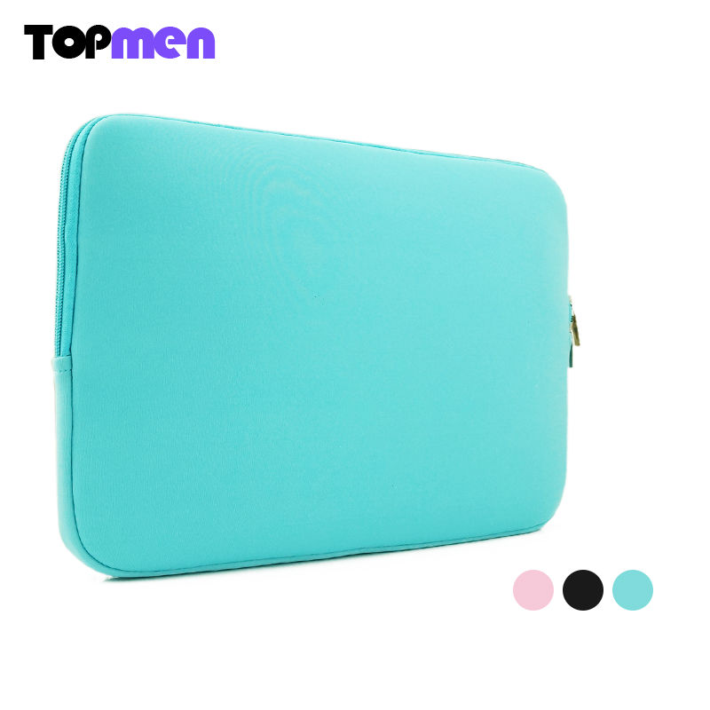 Soft Sleeve Laptop Bag Case For Macbook Air Pro Retina 11 13 15 Zipper Bags For Mac Book Carry Pouch Cover For Lenovo Notebook(China (Mainland))