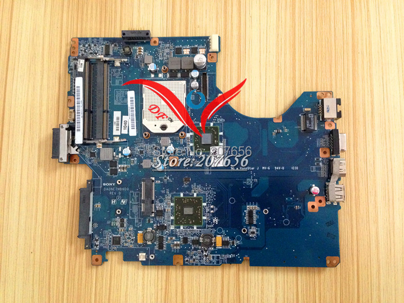 Free Shipping DA0NE7MB6D0 A1784741A Laptop Motherboard For sony VPCEE series 100% Tested Work Perfect(China (Mainland))