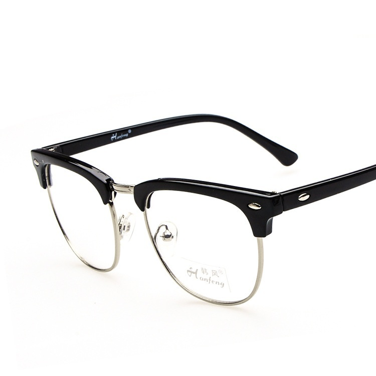 half frame brand glass frames cheap eyeglasses china in eyewear frames