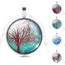 glass cabochon necklace pendant necklace art picture silver chain necklace women necklace jewelry fashion  2014