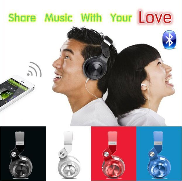 Newest Bluedio T2 Multifunction Stereo Bluetooth Headset noise canceling headphone wireless Headphones(China (Mainland))