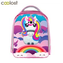 Buy Children Anime Unicorn Backpack Boys Girls Cartoon Kindergarten Backpacks Rainbow Pony Kids School Bags Bookbag Pink Backpacks for $13.10 in AliExpress store