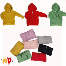 AD Children's Hoodies Sweatshirts Age 2-10 Boys & Girls Zipper Coat Shirts Winter Velvet Thickening Warm Kids Sweaters Clothing(China (Mainland))