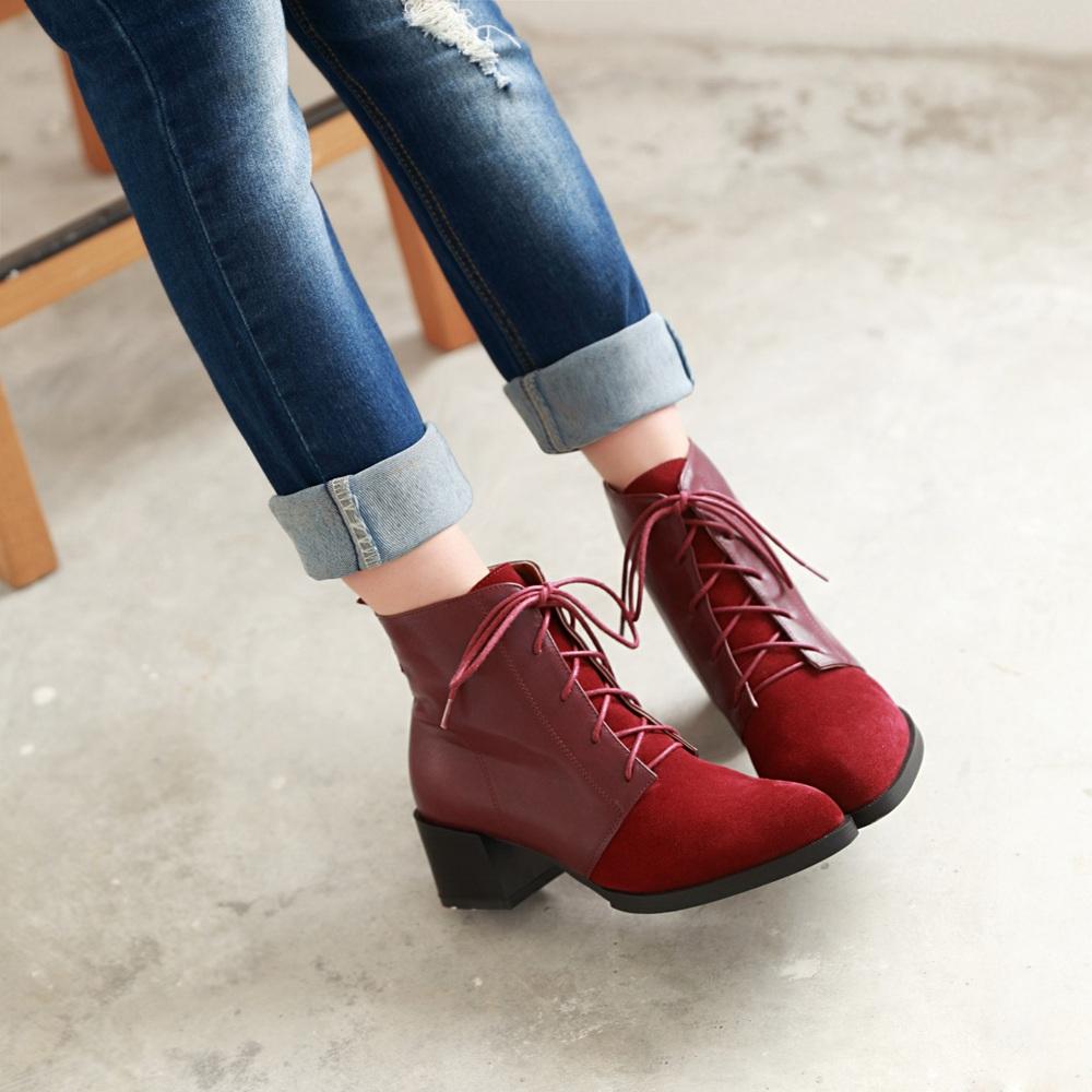 Vintage Lace Up Heels