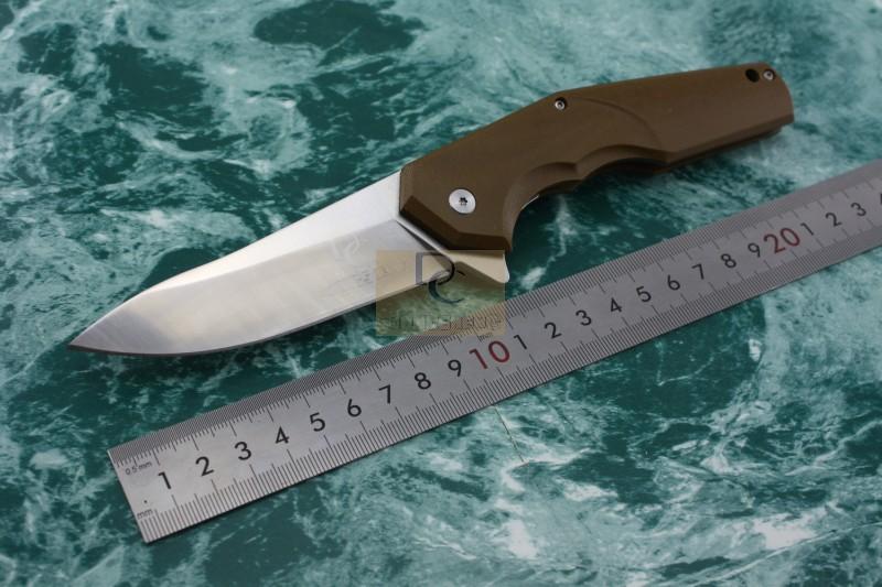 DC version DC A5 CKF ELF ANTON MALYSHEV DESIGN big folding knife 8cr13mov blade CNC AIO