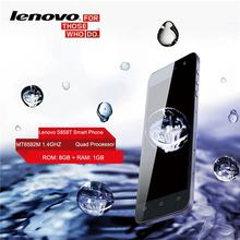 """Оригинальный Lenovo S858T смартфон 5.0 """" 1280 x 720 IPS MTK6592M четырехъядерных процессоров 1.4 ГГц android-навигации 4.4 GPS 1 ГБ оперативной памяти 8 ГБ ROM 8.0MP камера(China (Mainland))"""