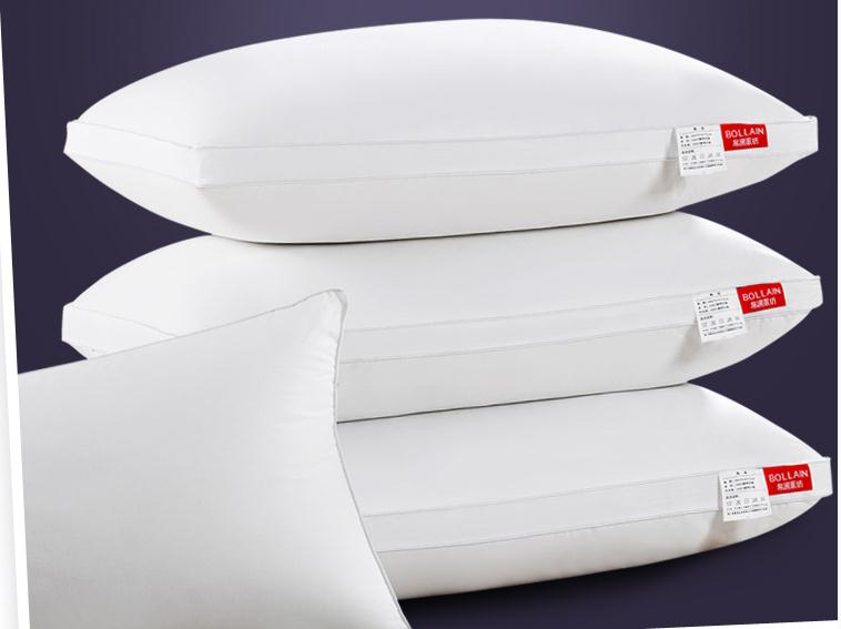 Pillow feather velvet hotel pillow water wash pillow cervical health care pillow core(China (Mainland))
