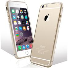 0.5mm Super Slim 2 In 1 Aluminum Metal + Clear Panel Case For iPhone 6 6S Plus 5.5 Fashion Accessories Phone Cover For iPhone 6+