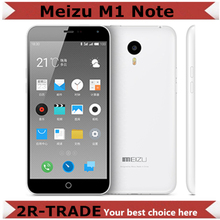 "Original Meizu M1 Note 4G FDD LTE Dual SIM Mobile Phone 5.5"" 1920X1080P MTK6752 Octa Core 13MP Android 4.4 Noblue Note(China (Mainland))"
