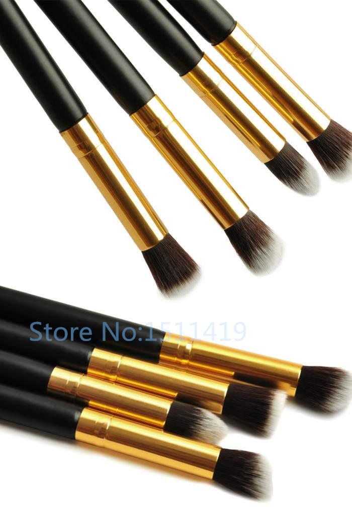 1Set/4Pcs Professional Eye Brushes Set Eyeshadow Foundation Mascara Blending Pencil Brush Makeup Tool Cosmetic Brushes Set(China (Mainland))
