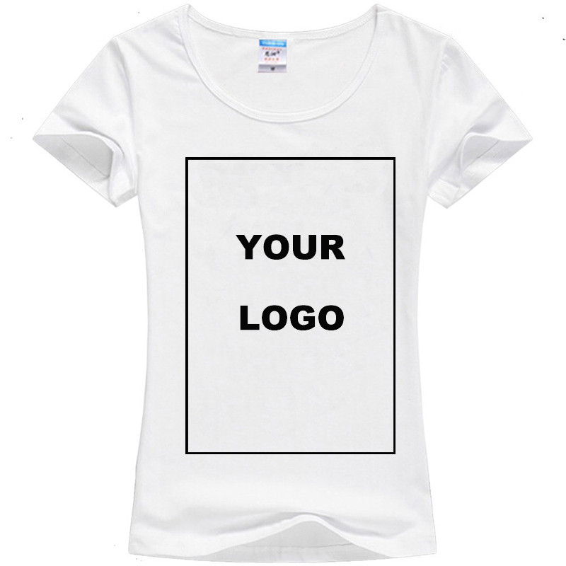 Customized women 39 s t shirt print your own design high Printing your own t shirts