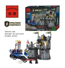 267pcs Hot Sale Castle Fortress Bunker Building Block Minifigures Kid Toy Gift Compatible Legoelied Lbk_qm_016
