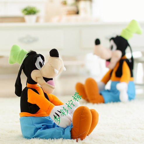 1PC 55cm GOOFY Dog Plush Toys mickey minnie mouse donald duck pluto soft dolls toys for children free shipping(China (Mainland))