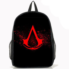 2015 NEW real seconds kill free shipping Assassins creed backpack(China (Mainland))
