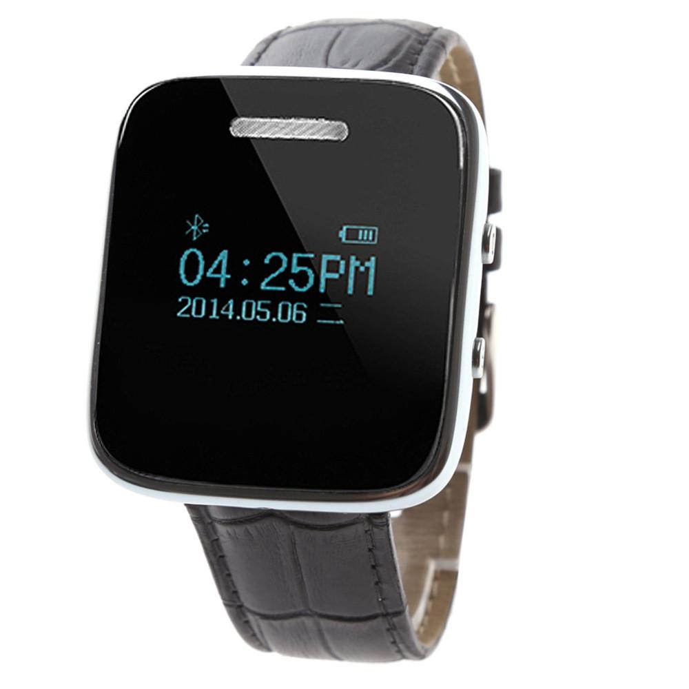 ถูก สมาร์ทดูการเชื่อมโยงฝันE6นาฬิกาซิงค์แจ้งเตือนการเชื่อมต่อบลูทูธสำหรับแอปเปิ้ลโทรศัพท์A Ndroid SmartwatchสำหรับIOS android OS