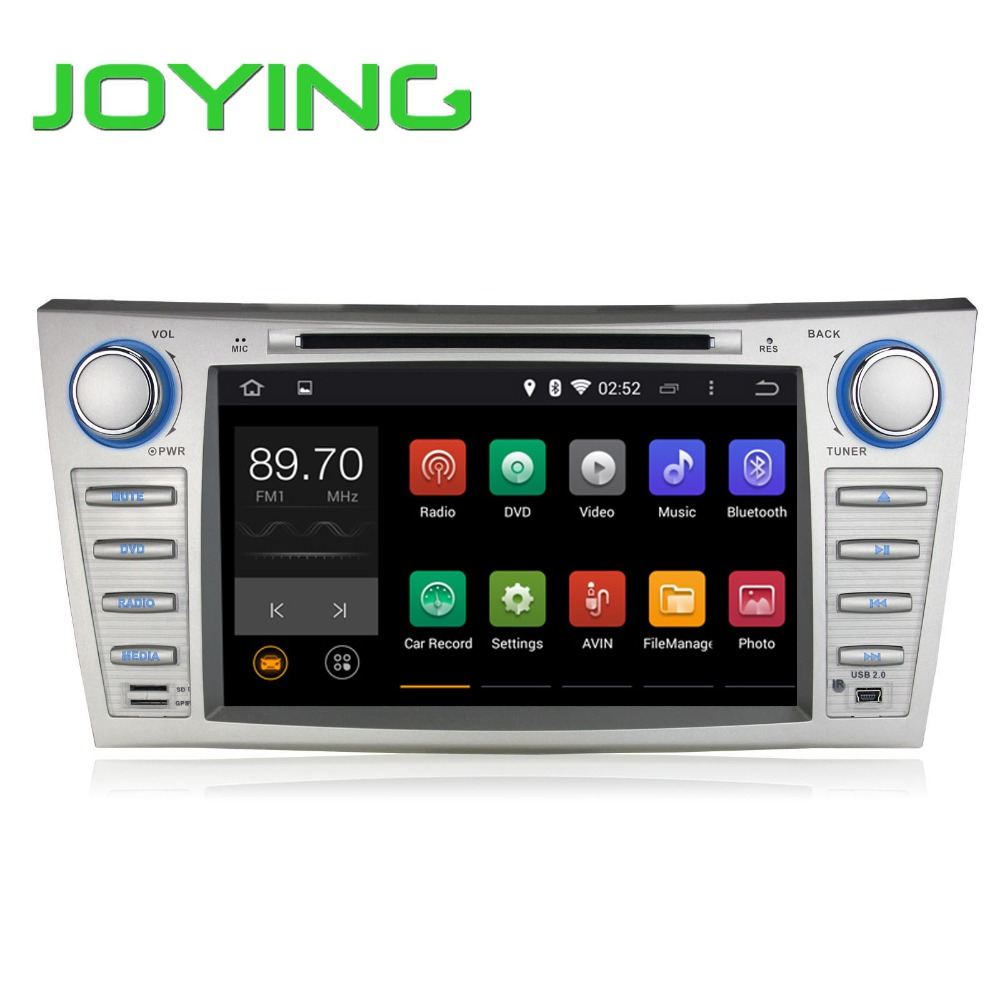 "Joying Double 2 Din Car DVD GPS Navigation Quad Core 8"" Android 5.1 For Toyota Camry 1024*600 HD Head Unit Car Stereo(China (Mainland))"