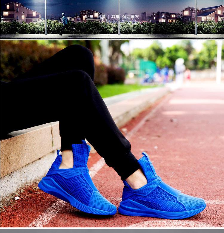 New Fashion 2016 Mens Shoes Trainers Brand Top Quality Air Mesh Runner Shoes Man Black Red Original Tubular Basket Big Size