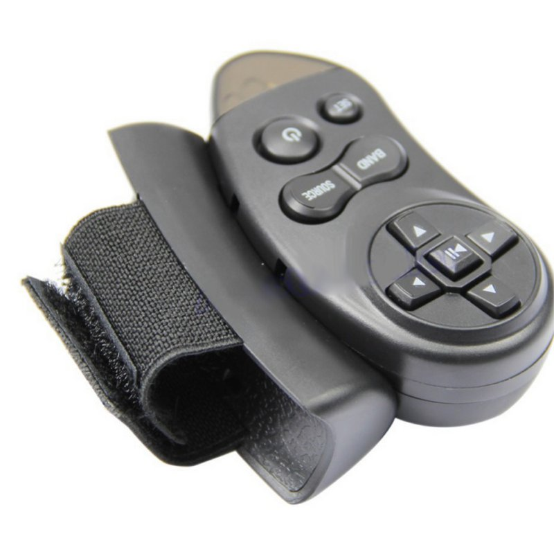 Car Universal Steering Wheel Remote Control Learning For Car CD DVD VCD Free Shipping(China (Mainland))