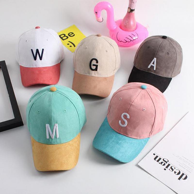 2016 New Letter Suede Snapback Baseball Cap Femmes Gorras Polo Golf Cap Hip Hop Flat Hat Casquette Bones Caps For Men Women(China (Mainland))