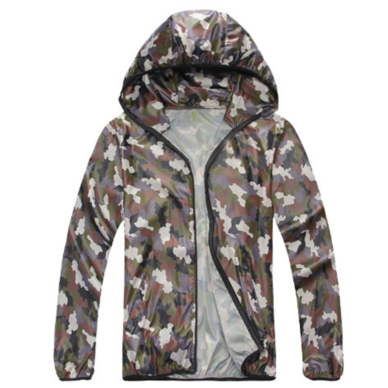High Quality Camouflage New Men Waterproof Breathable Men Windbreaker Men Spring Jacket Size S-XXL(China (Mainland))