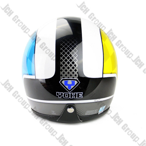 YH 859 Bule & Yellow Fine designed Motorcycle helmet open face 3/4 Double visor lense ECE Standard(China (Mainland))