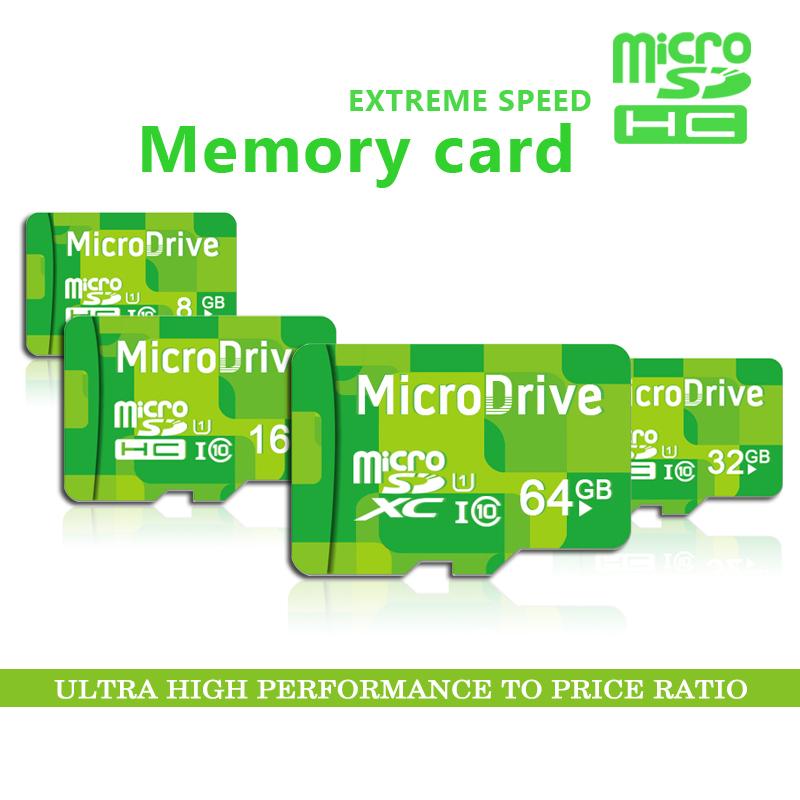 Green 4g 8g 16g 32g 64g Memory cards Micro SD card 64GB class 10 Memory card Microsd TF card Pendrive Flash(China (Mainland))