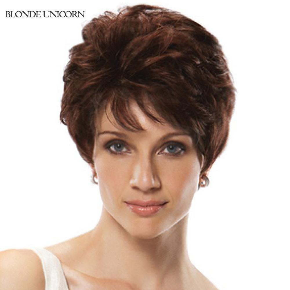 Blonde Unicorn Fashion Short Human Hair Wigs Women's Wig Short Curly Wig Human Hair Wig Customized Global Free Shipping(China (Mainland))