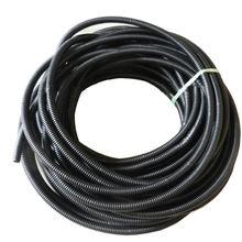 50′ ноги 1/2 » черный сплит-джерси ткацкий станок провод гибкий трубки жильный трубопровод шланг крышка