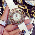 7 Colors New Style Quality Women Watches Luxury Rhinestone Wristwatch Lady Crystal Dress Watch Female Genuine