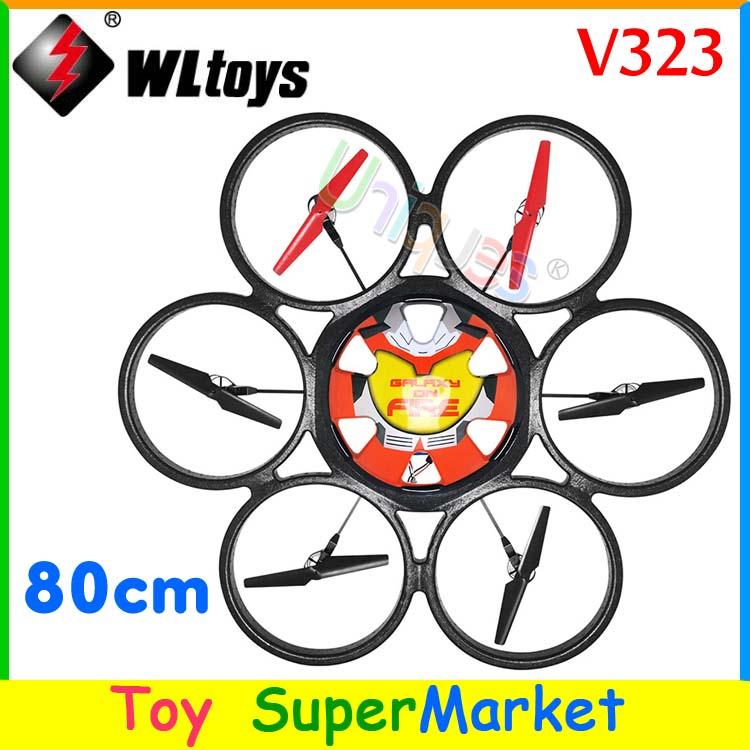 WLtoys V323 World Biggest Quadcopter with Camera RC Remote Control Helicopter 80cm 4CH Radio Big Quadrocopter UFO Drone As V262(China (Mainland))