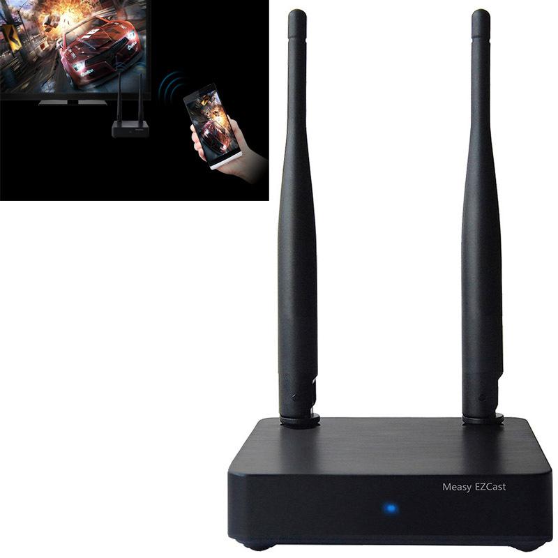 Measy A1W II TV BOX EZCast EZAir EZMirror DLNA Multi-media Miracast WiFi Display Adaptor for Smartphone / PC / Laptop(China (Mainland))