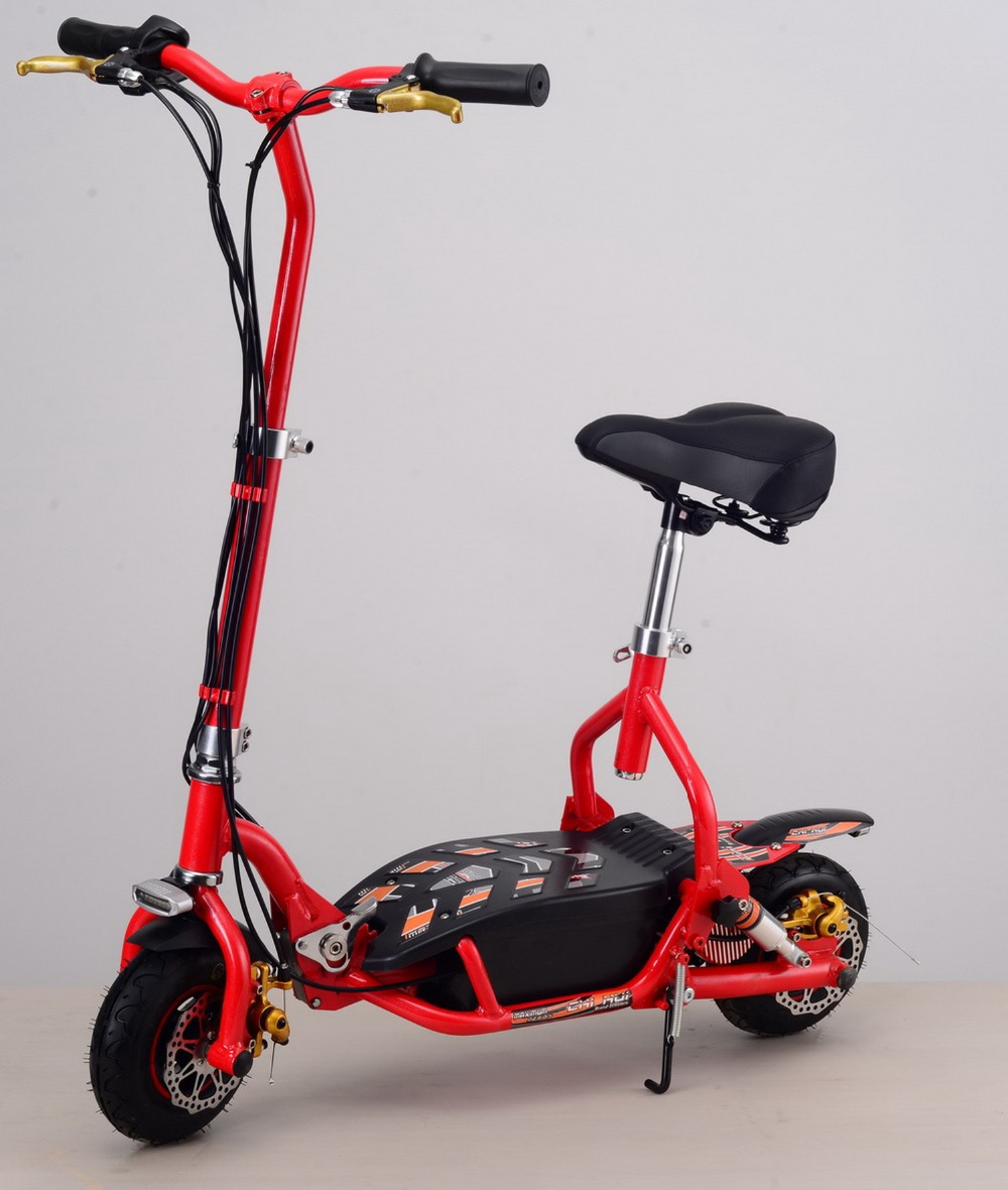 Two-wheel Kids Scooter 300W 24V Foldable Electric Scooter Adults Sports&Leisure Scooters with Front&Rear LED Lights(China (Mainland))