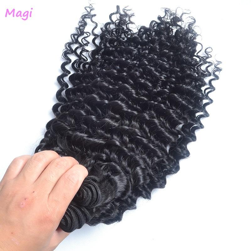Now DHL free shipping grade 6A Virgin Hair 3 PCS Lots 100% Unprocessed peruvian deep wave<br><br>Aliexpress