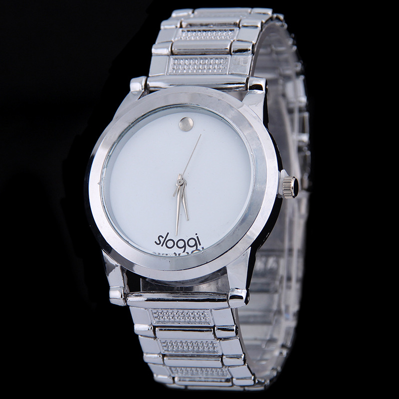 2016 Hot sale brand watches men women fashion casual watch full steel watch date business lover couple dress causal watches(China (Mainland))
