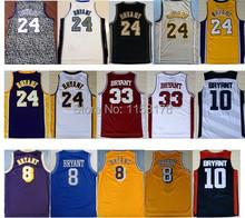 cf51984a6 ... Free shipping 8 Kobe 24 Kobe Bryant Jersey throwback 33 Bryant High  School USA 2012 dream . ...