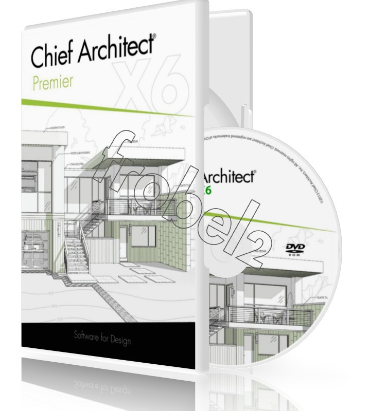 Chief Architect Premier X6 X5 English Version Home Outfit Design Software In Software From