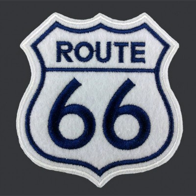 Biker Vest Jacket Cloth Patches ROUTE 66 Mark HARLEY RIDER DIY Parts Loco Motive Embroidery Patches Hot New Products For 2015(China (Mainland))