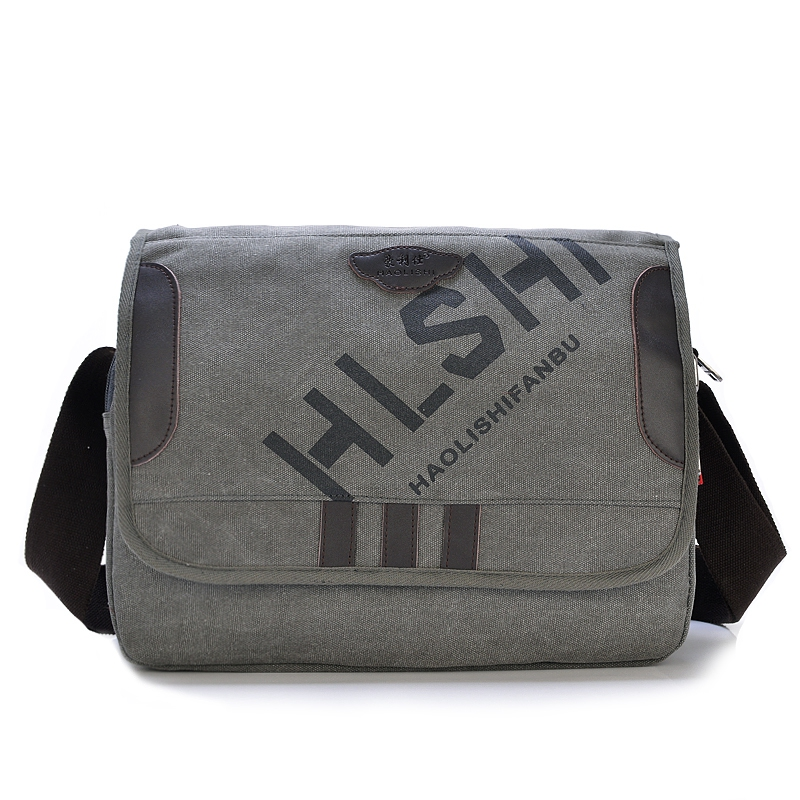 Men and Women Shoulder Bag Messenger Bag Canvas Multifunction Bag New Fashion Casual(China (Mainland))