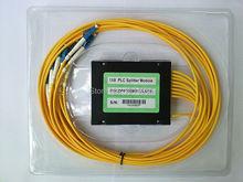 5pieces/lot 3.0MM 1X8fiber splitter LC/PC PLC Splitter Module SM 1M ABS BOX - ShenZhen Higtek Fiber Optical Company store