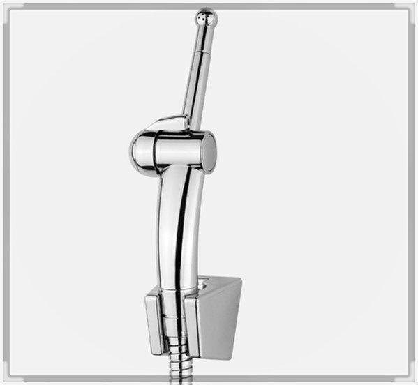 three holes Chrome plated ABS shattaf set bidet shattaf sprayer+ 1.5m stainless steel shower hose BD221 torneira eletrica banhei(China (Mainland))