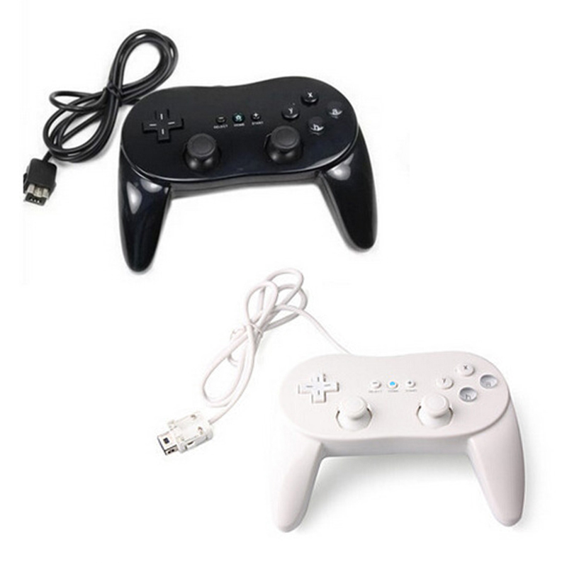 1pcs Classic Wired Game Controller Gaming Remote Pro Gamepad Shock Joypad Joystick pc controller For Nintendo Wii(China (Mainland))