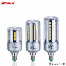 Buy E14 LED Corn Bulb Light 5W 7W 9W 15W 20W 25W E27 Ampoule LED Diode Lamp SMD 5736 Flicker Free Aluminum Light Bombillas 85-265V for $2.35 in AliExpress store