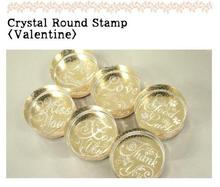 Blessing Words Romantic Sellos Scrapbook Greetings Teaser Crystal Stamp Seal Creative Lovely Beauty DIY Thank You Stamp 6 Styles(China (Mainland))